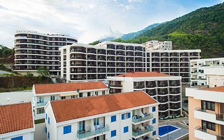 Продажа квартир в жилом комплексе Anatolia в Бечичи, Черногория