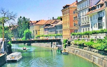 3-этажная вилла в центре города Любляна, Словения