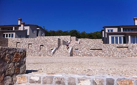 Резиденция Кнапичи из 8 вилл в Хорватии