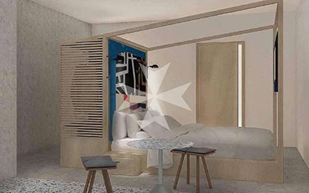 Мини-отель на 13 номеров в столице Мальты