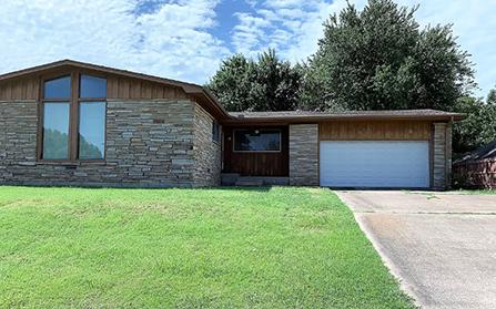 Дом в Мадилле, штат Оклахома, США