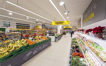 Супермаркет в Милане, Италия