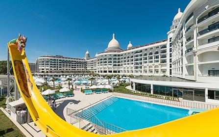 Отель в городе Сиде, Турция