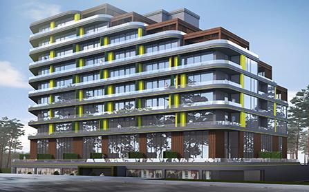 Строительство здания в городе Магоса, Северный Кипр