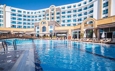 Отель в городе Каргыджак, Турция