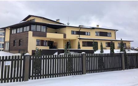 Доходное домовладение в городе Марупе, Латвия