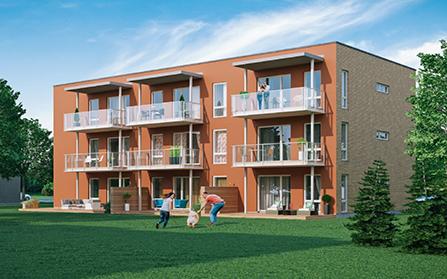 Квартиры в домах с солнечными батареями в поселке Кийли, Эстония