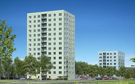 Продажа квартир в высотных зданиях, Таллин, Эстония