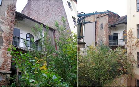 Два дома перед ремонтом в Праге, Чехия