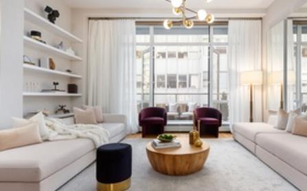 Квартира на Манхэттене в Нью-йорке