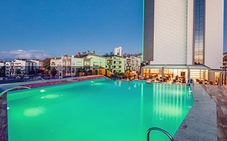 Продажа действующего отеля площадью 7780 м2 в Турции