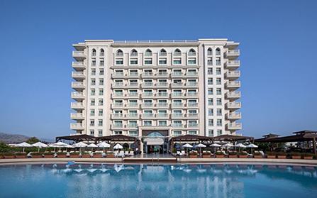 5-звездочный пляжный отель недалеко от Коньяалты в Турции