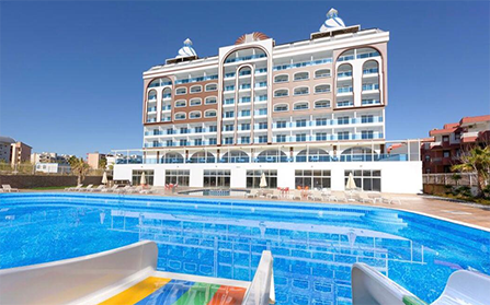 Отель в Аланье, Турция