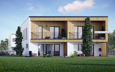 Двухквартирный дом в Харьюмаа, Эстония