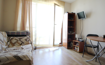 Квартира-студия в городе Солнечный Берег, Болгария