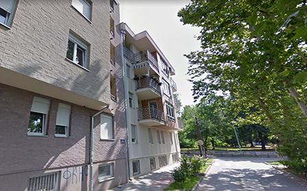 Двухуровневая квартира в городе Нови-Сад, Сербия