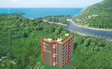 Продажа однокомнатных апартаментов с видом на море в Таиланде