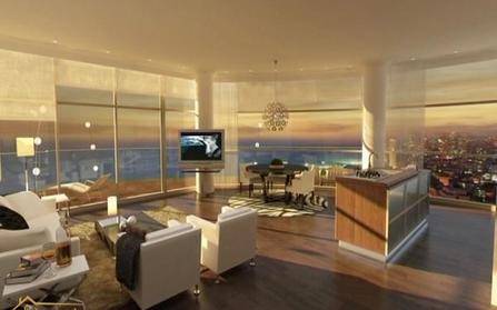 Пятикомнатная квартира в городе Бат-Ям, Израиль