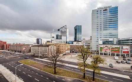 Трехкомнатная квартира в центре Таллина, Эстония