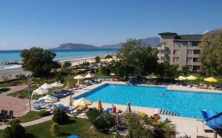 Отель на 229 номеров в Турции