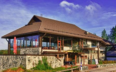 Гольф-центр в городе Отепя, Эстония
