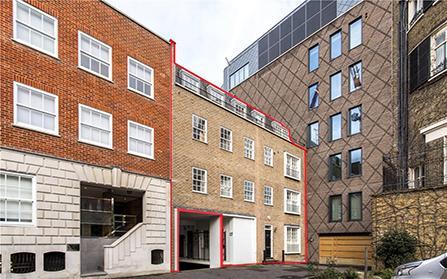 Строительство дома в районе Мэйфэр, Лондон