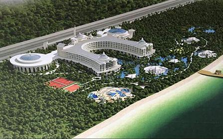 Современный пятизвездочный отель в курортной Турции
