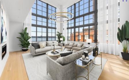 Апартаменты в районе Челси, Нью-Йорк