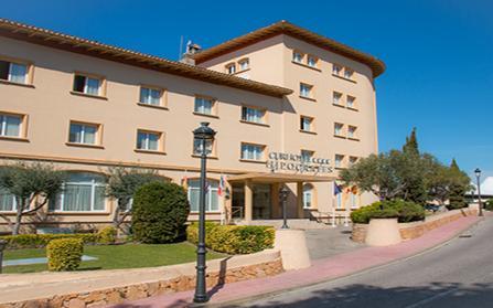 Отель Hipócrates Curhotel в Коста-Браве, Испания