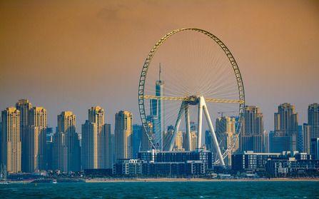 Самое большое колесо обозрения в мире дубай виллы Абу Даби Дадна